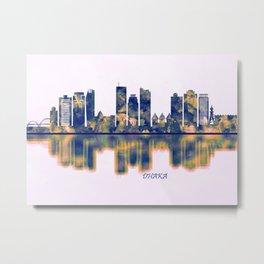 Dhaka Skyline Metal Print