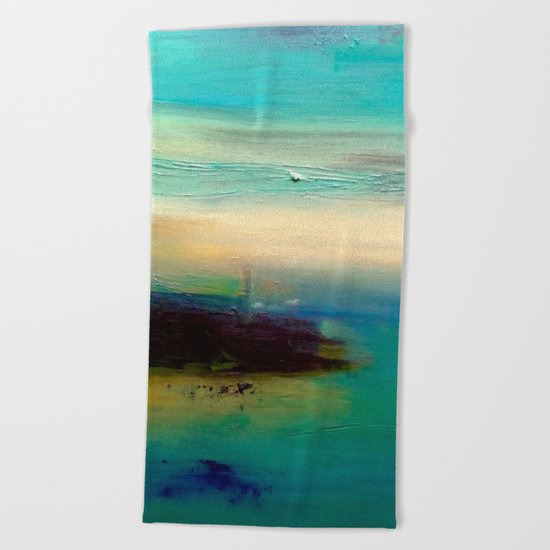 dream of sea Beach Towel