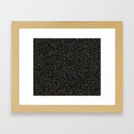 knuckles brass Framed Art Print