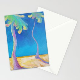 DANCING PALMS Stationery Cards