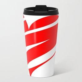 Stylized Heart Travel Mug