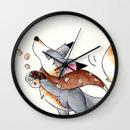 Marshmallows, Please! Wall Clock