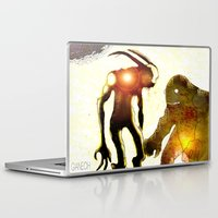monsters Laptop & iPad Skins featuring Monsters by Joe Ganech