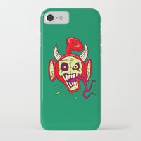 evil dead iPhone & iPod Cases featuring Evil Dead Po by Artistic Dyslexia