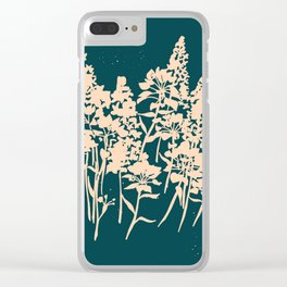Timothy Woods Clear iPhone Case