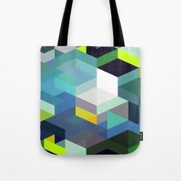 Blue Diamonds Tote Bag