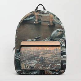London from above Backpack