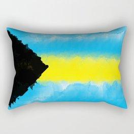 Bahamian Flag Rectangular Pillow