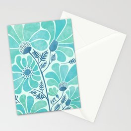 Himalayan Blue Poppies Stationery Cards