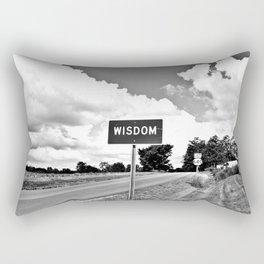 The Road to Wisdom Rectangular Pillow