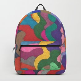 Chaos in Color Backpack