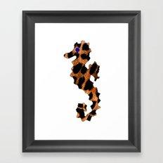 SEA LEOPARD Framed Art Print
