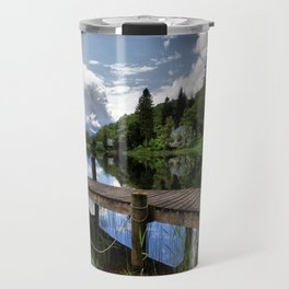 Tranquility At Loch Ard Travel Mug