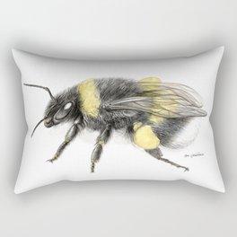 White-tailed bumblebee Rectangular Pillow