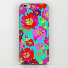Popping Petals iPhone & iPod Skin