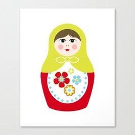 Matryoshka Doll 3 Canvas Print