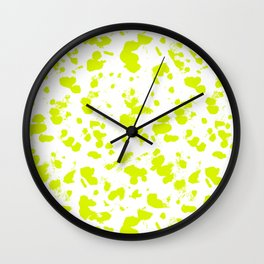 Neon splash Wall Clock