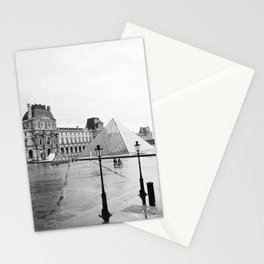 louvre cyclists Stationery Cards
