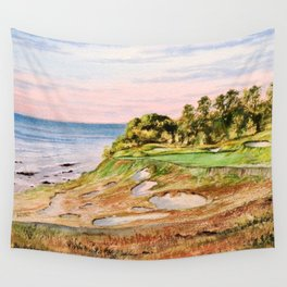 Whistling Straits Golf Course Wall Tapestry