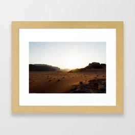 Living Sands Framed Art Print