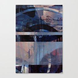 turbulent elegy Canvas Print