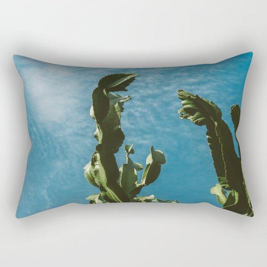 Cactus Sky II Rectangular Pillow