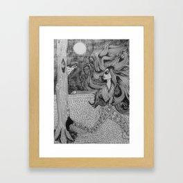 Where's the wolf Framed Art Print