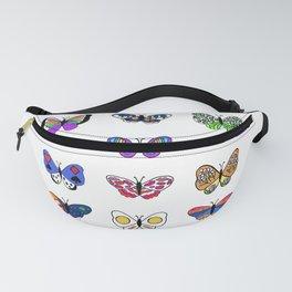 Butterfly Garden Fanny Pack