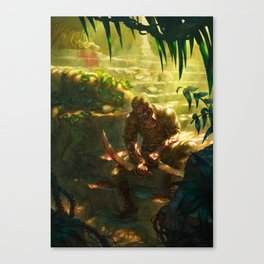 Mortal Sword Canvas Print
