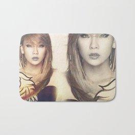 2NE1 CL Bath Mat