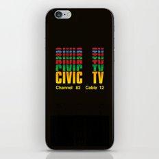 CIVIC TV iPhone & iPod Skin