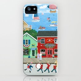 A Star Spangled Day iPhone Case