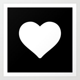 Heart ♥ Art Print