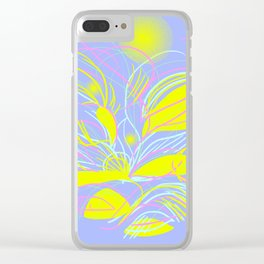 Plants Clear iPhone Case