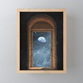 DOOR TO THE UNIVERSE Framed Mini Art Print
