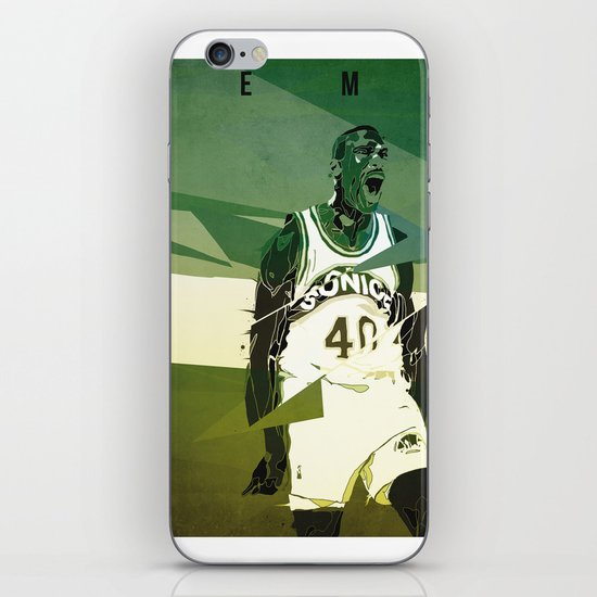 Seattle Reign Man iPhone & iPod Skin
