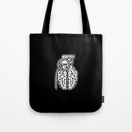 Grenade Brain Tote Bag