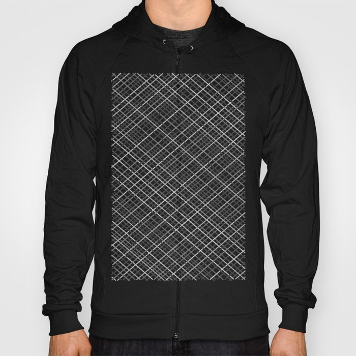 Weave 45 Black and White Hoody