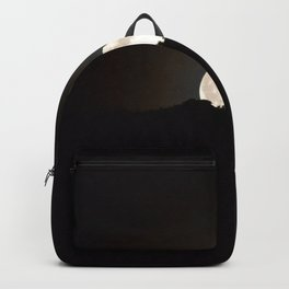 Full Moon Supermoon Backpack