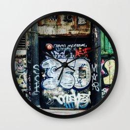 Graffiti NYC Wall Clock