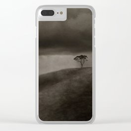 'Tree With Approaching Storm' (c)Joel Stephen Birnie 2003 Clear iPhone Case