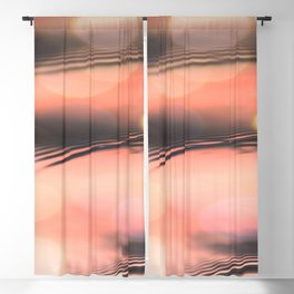 Sunset on Water Blackout Curtain