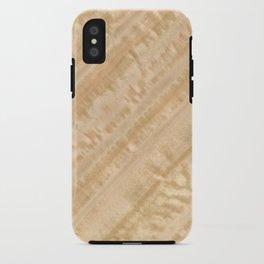 Eucalyptus Wood iPhone Case
