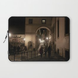 Along the Arno Laptop Sleeve