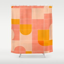 Retro Tiles 03 #society6 #pattern Shower Curtain