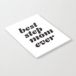 Best Stepmom Ever Headline Notebook