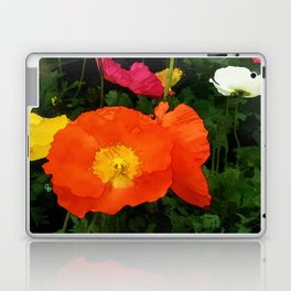 Poppies One Laptop & iPad Skin