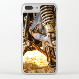 Rusty Miles Clear iPhone Case