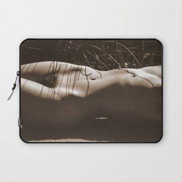 Nude Sunbathing Sepia Laptop Sleeve