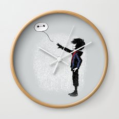 Boy with Robot Wall Clock